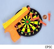 Family Dollar recalls toy dart set