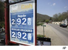 Gasoline prices May 2010