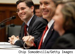 Federal Communications Commission Chairman Julius Genachowski, pictured here, will announce a new agency initiative designed to resolve the legal issues raised by a recent court ruling that threw the agency's broadband regulatory authority into doubt.
