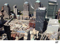 Freedom Tower site Lower Manhattan