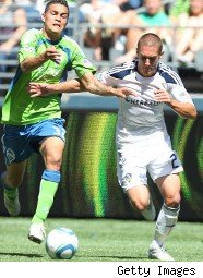 Seattle Sounders Major League Soccer action