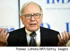 Warren Buffett, shown in this photo, is widely known as an investment genius, is little noted for his PR skills, yet he's a Teflon titan who attracts little whiff of scandal
