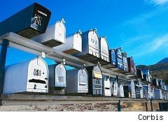 Mailboxes not needed for government checks