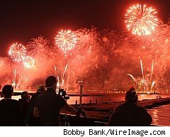Holiday fireworks belong in the sky, not the highway