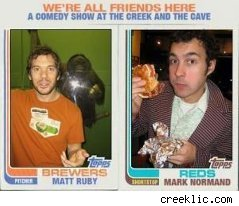 Mark Normand appears at the Creek and Cave