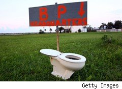 BP toilet