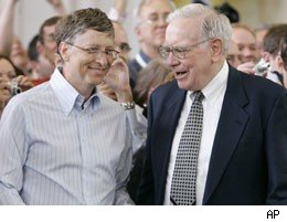 billionaires bill gates warren buffett