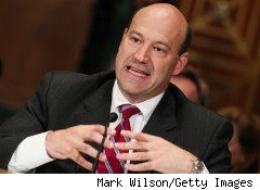 Goldman Sachs's second in command, Mark Cohn, testified before the Financial Crisis Inquiry Commission as part of a hearing on derivatives Wednesday.