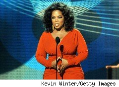 Talk-show host Oprah Winfrey
