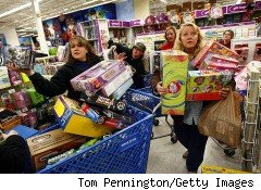 Toys R Us holiday shoppers