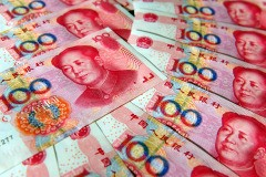 China's yuan, or renminbi, currency