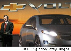 Chevy Volt Wins Green Car of the Year