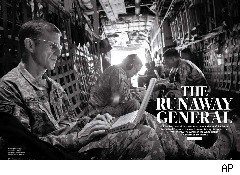 Stanley McChrystal in Rolling Stone Magazine