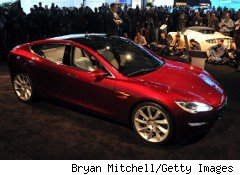 Tesla Motors will use proceeds from its IPO to begin production of its second model, this sedan called Model S.