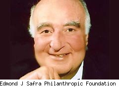 Billionaire murder victim Edmond Safra