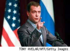Russian President Dimitry Medvedev wants Russian scientists and entrepreneurs to come home -- and to bring some venture capital with them.