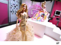 THQ hopes that Barbie, along with Hot Wheels and other Mattel brands, can help boost its revenue from games for children and families.