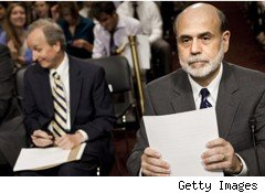Bernanke testifying