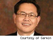 Min Kao, co-founder of Garmin
