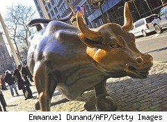 stock market gains bull