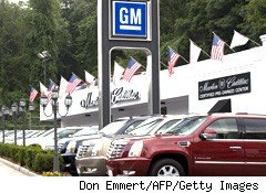 auto car sales GM