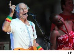 Jimmy Buffett in concert