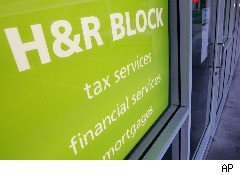H&R Block saw revenues decline in the second quarter, but still managed to post a narrower loss than analysts had expected.