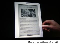 Amazon sells more ebooks than hardcovers