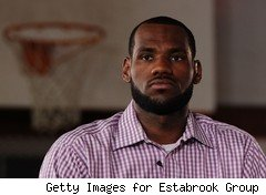 LeBron James on ESPN