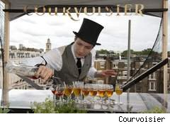 Molecular cocktails at Courvoisier's