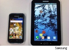 Samsung Galaxy Tab Will Use Android OS