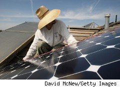 California has put some of its solar incentives on hold temporarily while it rejiggers part of its program.