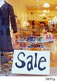 sale sign illustrates the anchor effect