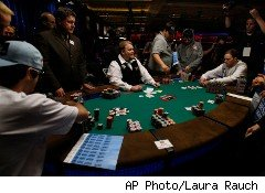 The World Series of Poker in Las Vegas this year wasn't just about the game; it was also about lucrative sponsorships.