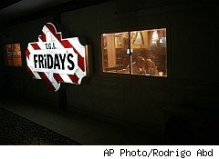 TGI Friday's on military base in Afghanistan