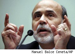 Fed Chair Ben Bernanke Economics Politics Stimulus Options
