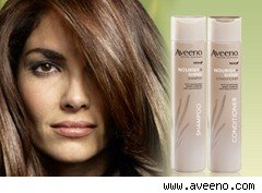 Aveeno hair-care products