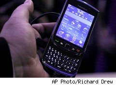 Users of BlackBerry smartphones, like this newly launched BlackBerry Torch, won't be able to get service in Saudi Arabia after this week.