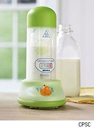 Williams-Sonoma bottle warmer recall.