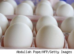 The recall of 550 million eggs has boosted wholesale prices 40% in the last two weeks. Experts say that will translate into higher egg prices in the stores within the next two weeks.