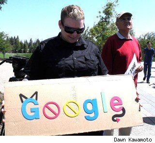 Adrienne Goldsworth joins the Google protest