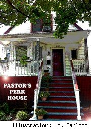 Jobs with extra perks -pic of special pastor's perk house
