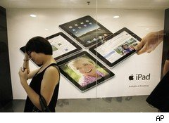 iPad shortage