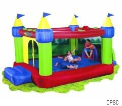 Children's bounce houses contain too much lead: Calif. AG