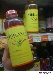 Vibranz kombucha tea back on shelves.