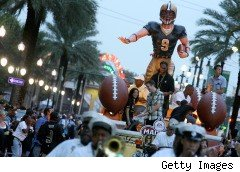 Madden video game float