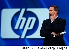 Mark Hurd resigned as CEO of Hewlett-Packard