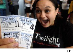 Twilight, Midnight Screening, Eclipse movie, Eclipse