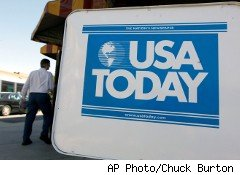 USA Today plans to lay off 130 business and newsroom employees this fall as it pushes toward mobile devices.