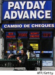 Payday loans office
